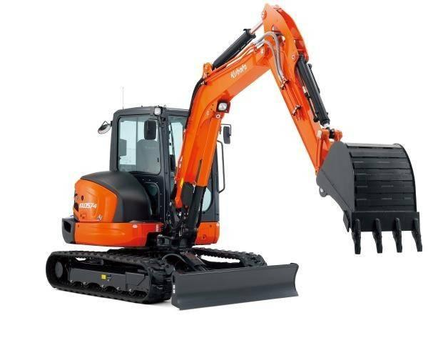 Where to find EXCAVATOR, KUBOTA KX057 CAB in Oakland