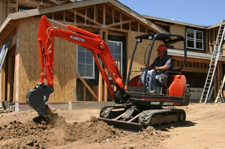 Where to find EXCAVATOR, KUBOTA KX71 in Oakland