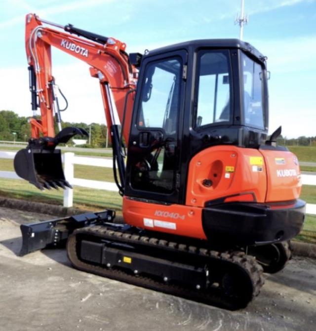 Where to find EXCAVATOR, KUBOTA KX040 in Oakland