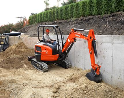 Where to find EXCAVATOR, KUBOTA U35  O in Oakland